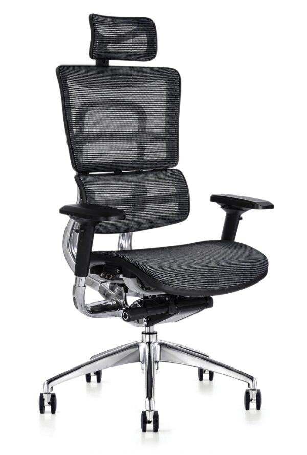 i29 mesh task chair with headrest