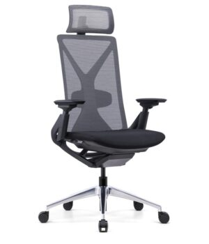 Fercula black mesh chair