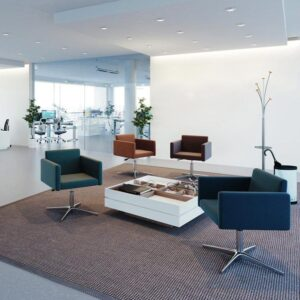 Square Reception Chairs