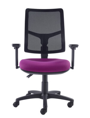 Onit mesh chair with arms