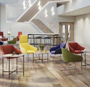 Sooty Reception Chairs