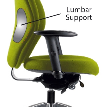 Inflatable Lumbar Support