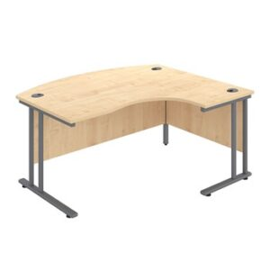 Bow Fronted Office Desks