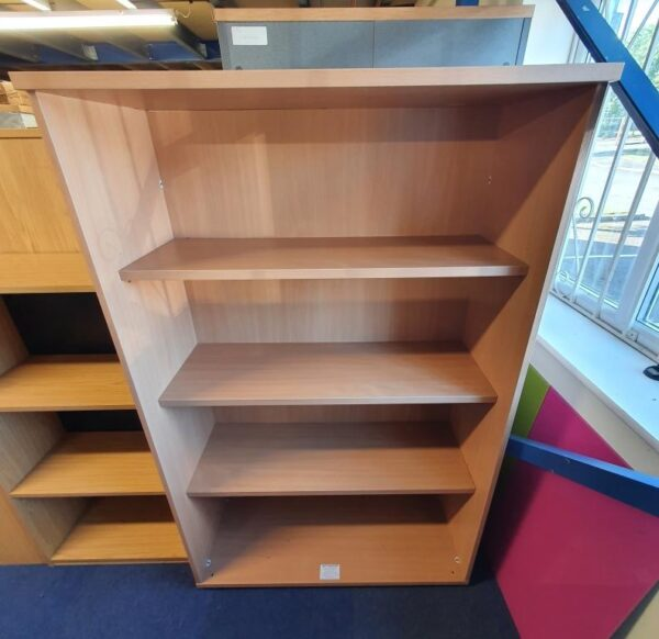 Used beech bookcase